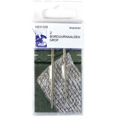 Embroidery Needles Coarse 2 Pieces