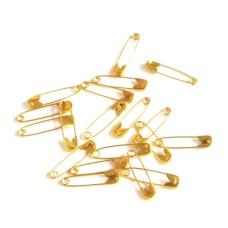 Veiligheidsspelden (goudkleur 20 mm 25 stuks)