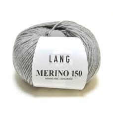Lang Yarns Merino 150 Grey (197.0324)